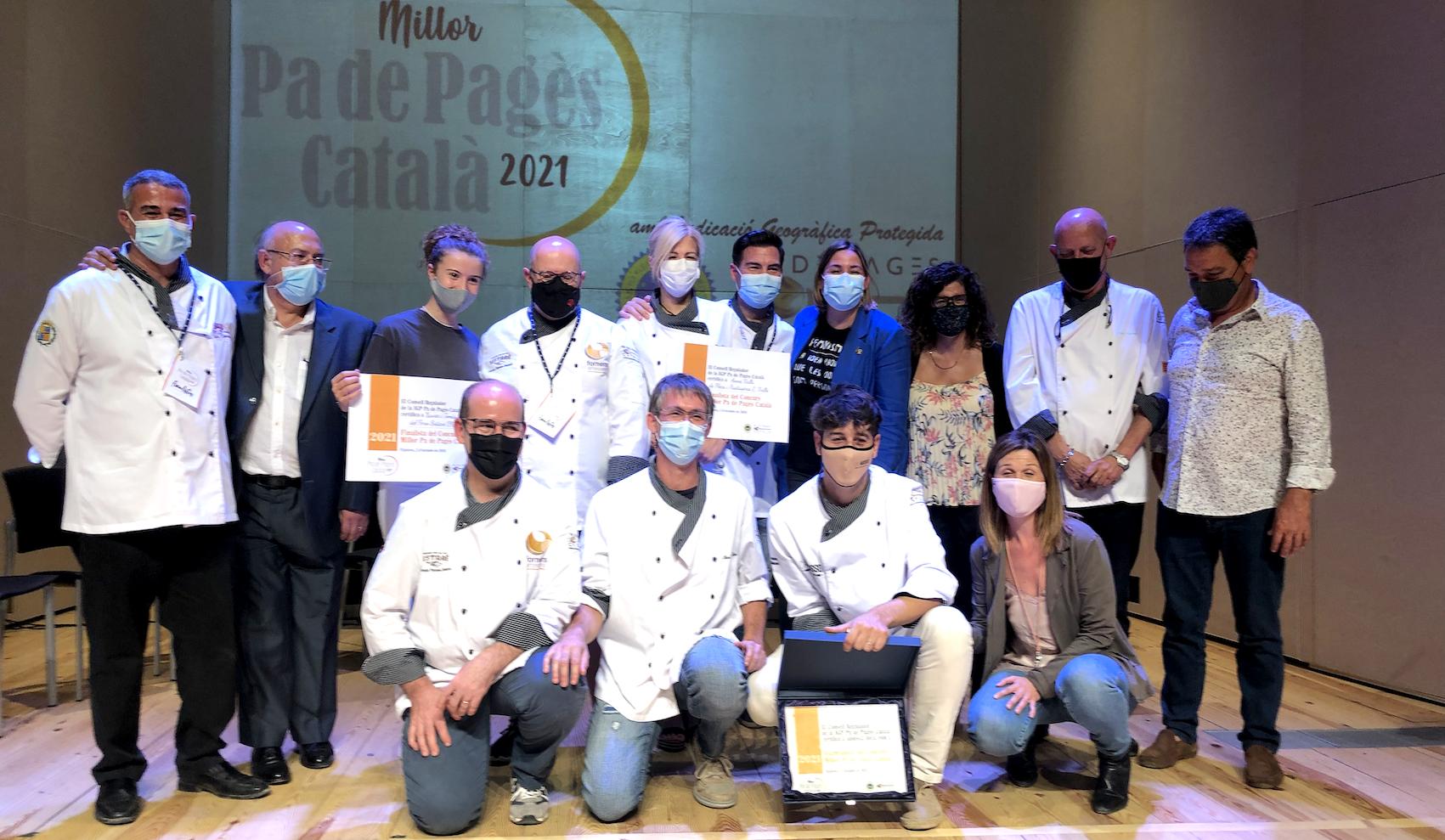 """Andreu Galcerán, ganador del concurso """"Millor pa de pagès Català 2021"""""""