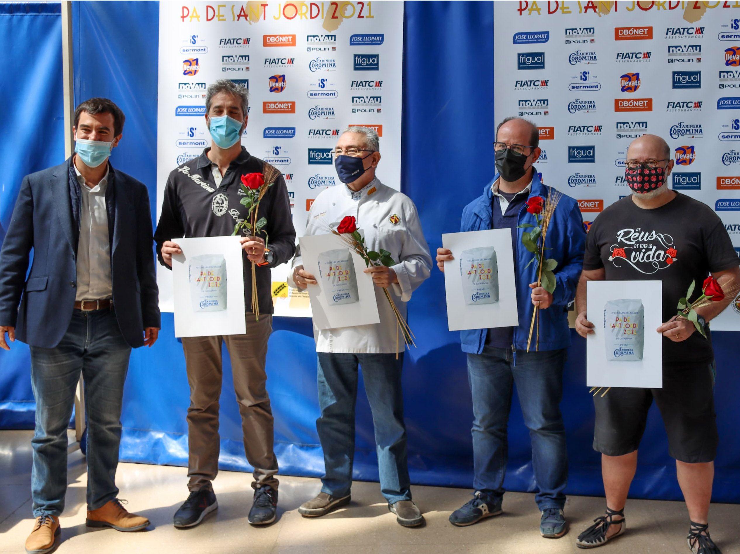 Ganadores del concurso Millor Pa de Sant Jordi de Catalunya 2021